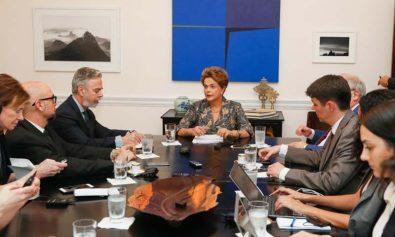 Nova Iorque - EUA, 22/04/2016. Presidente Dilma Rousseff entrevista para os jornais internacionais. Foto: Roberto Stuckert Filho/PR
