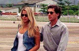 Adriane Galisteu conserva Fiat Uno que ganhou de Senna